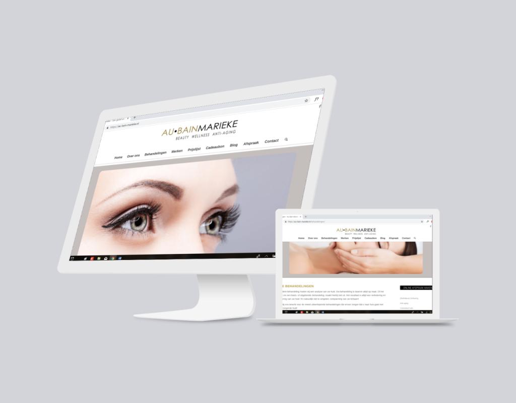 Website Au Bain Marieke
