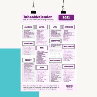 #portfolio: Inhaakkalender📆 Voor een Eventmanager die voornamelijk werkzaam is in de bouwsector hebben wij een speciale bouw inhaakkalender gemaakt voor 2021! Deze kan nu door iedereen via haar website (bij invoering van je e-mailadres natuurlijk😉) worden gedownload. 👩🏼💻 Natuurlijk hebben we dit ontwerp in de huisstijl van Gewoon Pleun gemaakt zodat alle marketing altijd één geheel blijft. Wat vind jij van deze gave kalender? Wil je hem downloaden? Ga dan naar www.gewoonpleun.nl/inhaakkalender!😊 Wist je dat wij ook gave dingen voor jou kunnen ontwerpen? Wil jij meer informatie? Stuur ons dan een privé berichtje of neem eens een kijkje op onze website...! #inhaakkalender #voordebouw #grafischdesign #design #kalender #ontwerp #ontwerpen #ontwerpmaken #huisstijl #infinitymarketing #marketing #onlinemarketing