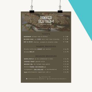 #portfolio: Menu kaart!🍽 Voor een bakker in Amsterdam hebben wij deze simpele maar overzichtelijke menukaart gemaakt. Geheel in de huisstijl van de bakker! De menukaart ligt nu op de toonbank!   Je kunt het zo gek niet bedenken en wij maken het voor je!😁 Wil jij meer informatie? Stuur ons dan een privé berichtje of neem eens een kijkje op onze website...!  #menukaart #grafischdesign #design #kalender #ontwerp #ontwerpen #ontwerpmaken #huisstijl #infinitymarketing #marketing #onlinemarketing